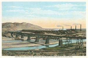 Trestle over Rio Grande, El Paso