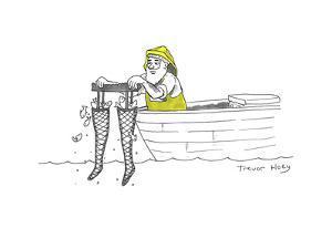Cartoon by Trevor Hoey