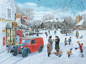 A Village Christmas by Trevor Mitchell