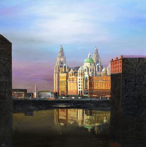 Albert Dock, Liverpool, 2008 by Trevor Neal