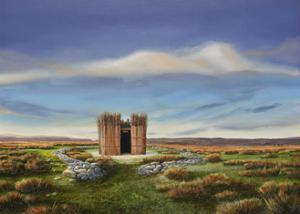 Bedouin Hut inDerbyshire, 2012 by Trevor Neal