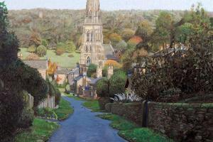 Edensor, Chatsworth Prak, Derbyshire, 2009 by Trevor Neal