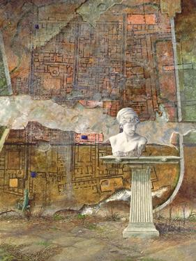Herculaneum Site Plan, 1994 by Trevor Neal
