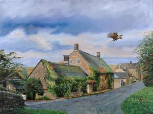 Ivy Cottage Beeley, Chatsworth, Derbyshire, 2009 by Trevor Neal