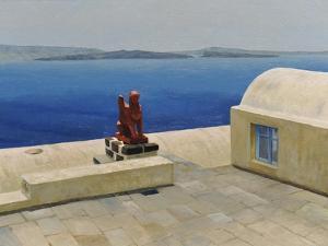 Santorini 6 by Trevor Neal