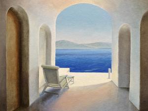 Santorini 9 by Trevor Neal