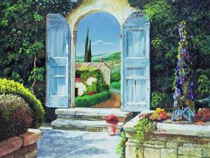 Shuttered Doorway, Volterra, Italy, 1999 by Trevor Neal