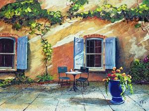 Shuttered Windows, Provence, France, 1999 by Trevor Neal