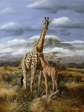 Kilimanjaro Pair by Trevor V. Swanson