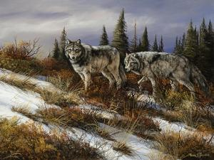 Two Hunters by Trevor V. Swanson