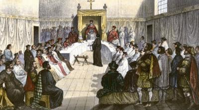 Trial for Heresy during the Spanish Inquisition