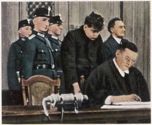 Trial of Van Der Lubbe