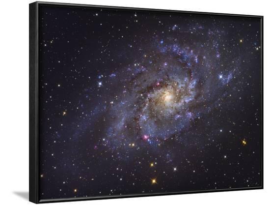 Triangulum Galaxy-Stocktrek Images-Framed Photographic Print