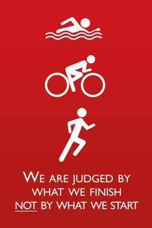 Triathlon Motivational Quote Sports