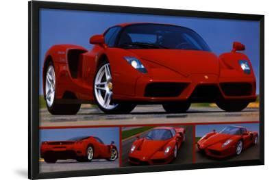 "Sports Car Poster 36/""x24/"" Tribute to Enzo Ferrari"