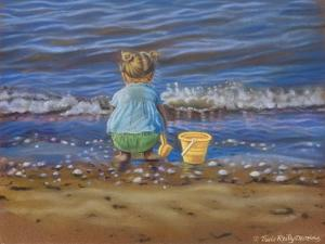At the Beach by Tricia Reilly-Matthews