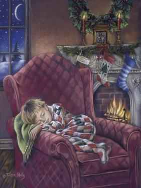 Fireside Nap by Tricia Reilly-Matthews