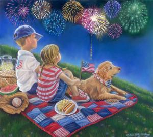 Fireworks Finale - Just One More by Tricia Reilly-Matthews
