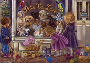 Pets to Love by Tricia Reilly-Matthews