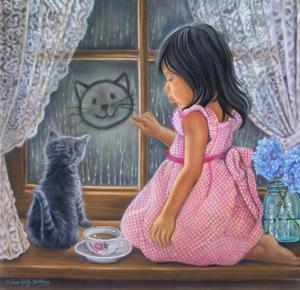 Rainy Day Sketch by Tricia Reilly-Matthews