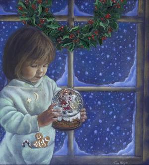 Snow Globe II by Tricia Reilly-Matthews