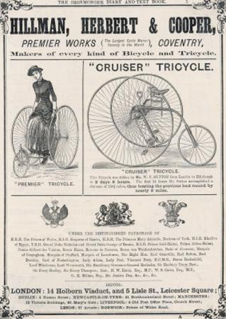 Tricycle Advertisement