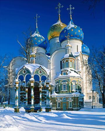 Trinity St. Sergius Monastery, Sergiev Posad, Golden Ring, Russia