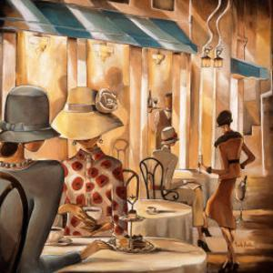 Bistro du Paradou by Trish Biddle
