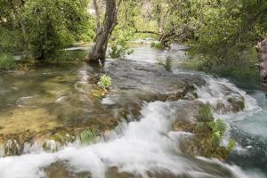Croatia. Krka National Park cascades. UNESCO World Heritage Site. by Trish Drury
