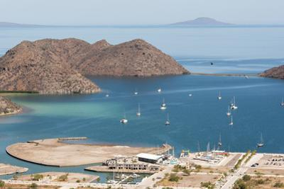 Mexico, Baja California Sur, Loreto Bay. Views from Hart Trail to Puerto Escondido. by Trish Drury