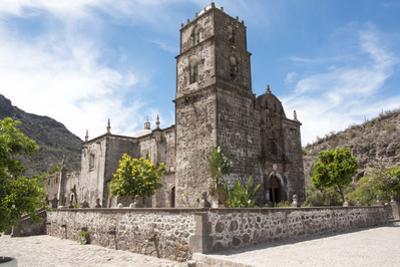 Mexico, Baja California Sur. Mission San Javier, Roman Catholic Jesuit by Trish Drury