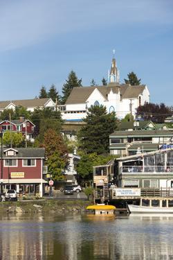 USA, Washington, Poulsbo. Norwegian Heritage Town on Kitsap Peninsula by Trish Drury
