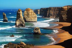 Apostles on Great Ocean Road, Melbourne by Tristan Brown