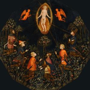 Triumph of Venus, First Half of 15th cen.