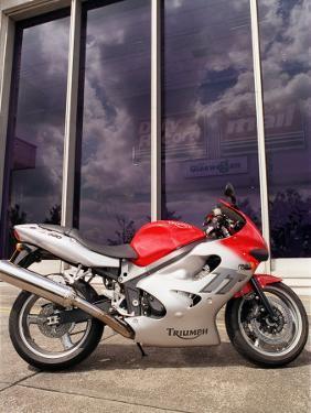 Triumph TT 600 CC Motorcycle Road Record, July 2000