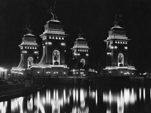 Triumphal Bridge Illuminated