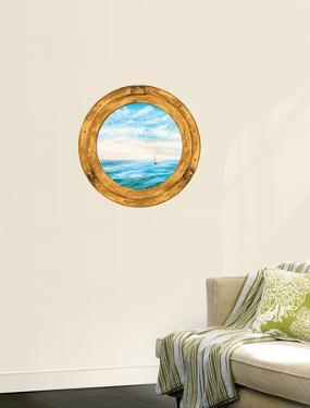Trompe L?Oiel Porthole Accent Wall Decal