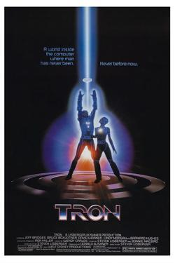 Tron [1982], directed by STEVEN LISBERGER.
