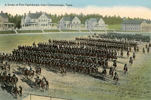 Troop Parade, Ft. Oglethorpe