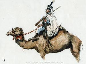 Trooper of the Camel Corps of the First Napoleon's Egyptian Army, 1790s