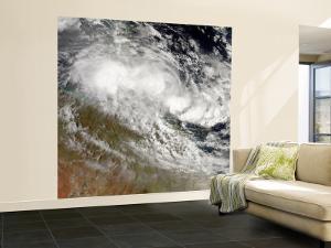 Tropical Cyclone Olga over Northeast Australia