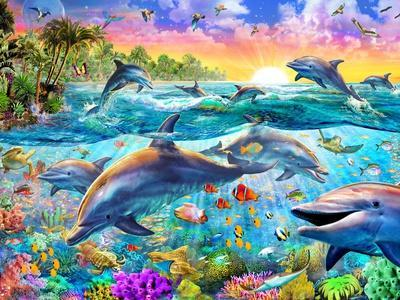 https://imgc.allpostersimages.com/img/posters/tropical-dolphins_u-L-Q11TRVR0.jpg?artPerspective=n
