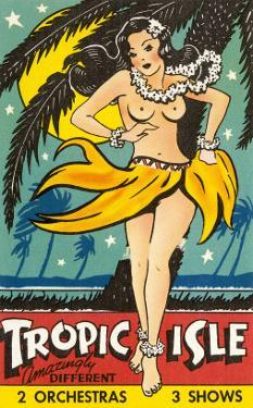 Tropical Girl Pin Up