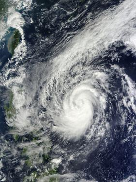 Tropical Storm Krosa Off the Phillippines