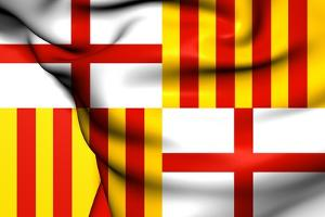 Flag of Barcelona by Trots1905