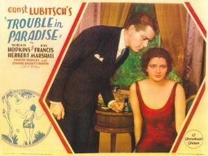 Trouble in Paradise, 1932
