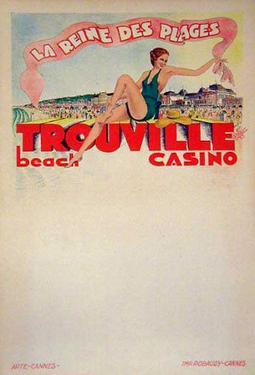 Trouville La Reine Des Plages (c.1933)