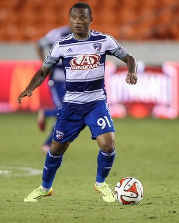 2014 MLS U.S. Open Cup: Jun 24, FC Dallas vs Houston Dynamo - Andres Escobar