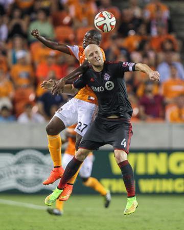 Jul 19, 2014 - MLS: Toronto FC vs Houston Dynamo - Boniek Garcia