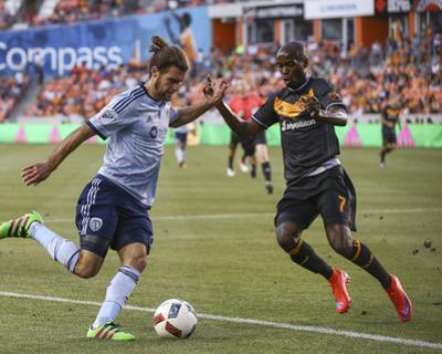 Mls: Sporting KC at Houston Dynamo by Troy Taormina